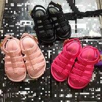 Marke Neue Sommer-gurt-frauen-kleid Mädchen Casual Sandalen Kühlen Baby Mädchen Strand Sandalen Kinder Kinder Sandalen Schuhe Q12