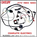 ATV QUAD wiring harness 50cc 70cc 110cc 125cc Ignition coil CDI Stator assembly wire