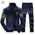 Sportswear Hoodies dos homens de moda Homens Casual Moletom Masculino Homens Treino Sportswear Marca Homem Lazer Outwear Agasalho Conjuntos