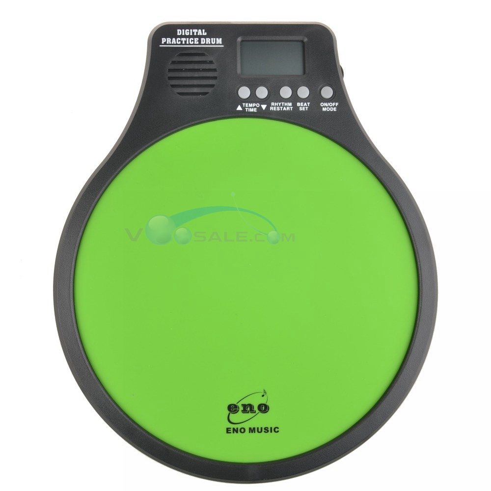 buy eno emd 40 digital drumming practice drum pad with metronome 3 in 1. Black Bedroom Furniture Sets. Home Design Ideas