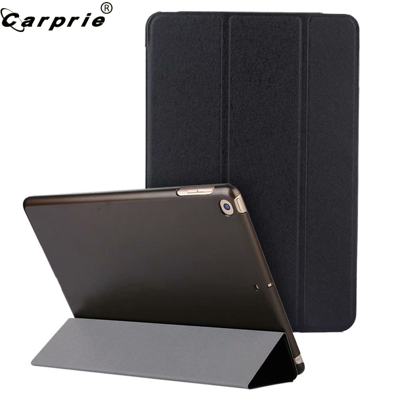 CARPRIE Tablet Case Cover For iPad 6th Generation 2018/5th Generation 2017 9.7 inch Slim Magnetic Leather Smart Holder 90507