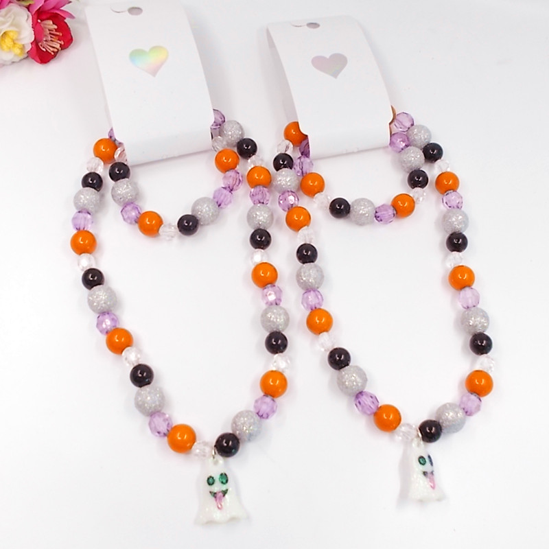 1set Necklace Children Jewelry Cordial Design Kids DIY Chunky Bubblegum Necklace Sugar S ...
