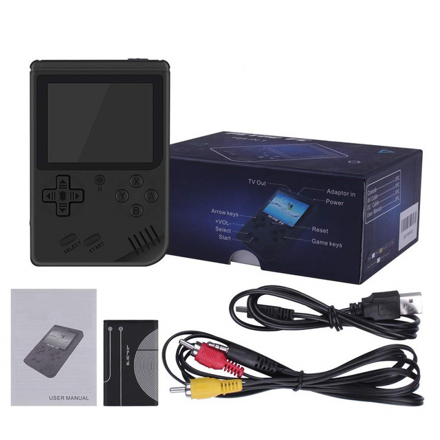 Coolbaby Handheld Console - 3.0 Inch Color LCD - 168 Games Included 5