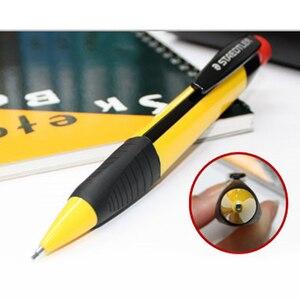 Image 4 - STAEDTLER 771 ołówek automatyczny rysunek ołówek automatyczny s szkoła papiernicze artykuły biurowe trójkąt ołówek pręt z gumką 1.3mm