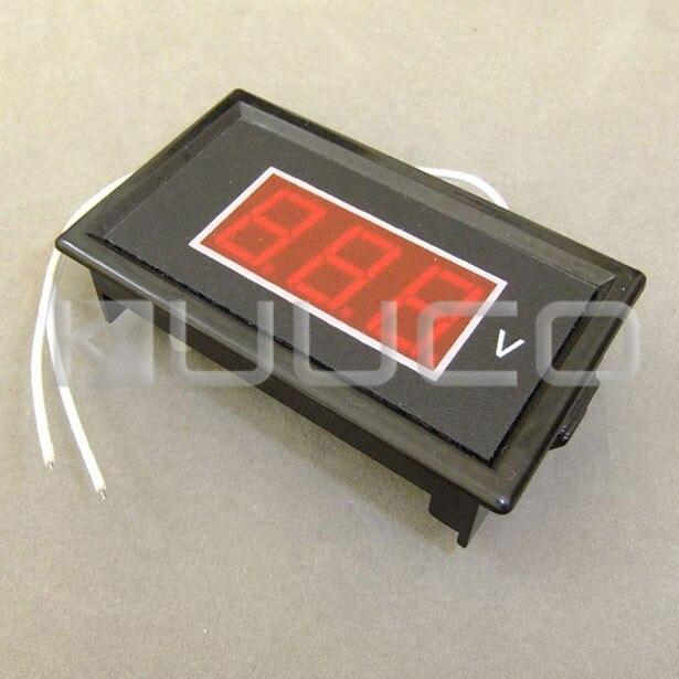 5 PCS/LOT Digital Voltage Meter AC 60 ~ 500V Voltmeter 0.56  Red Led Display Voltage Tester AC 110V 380V Volt Meter