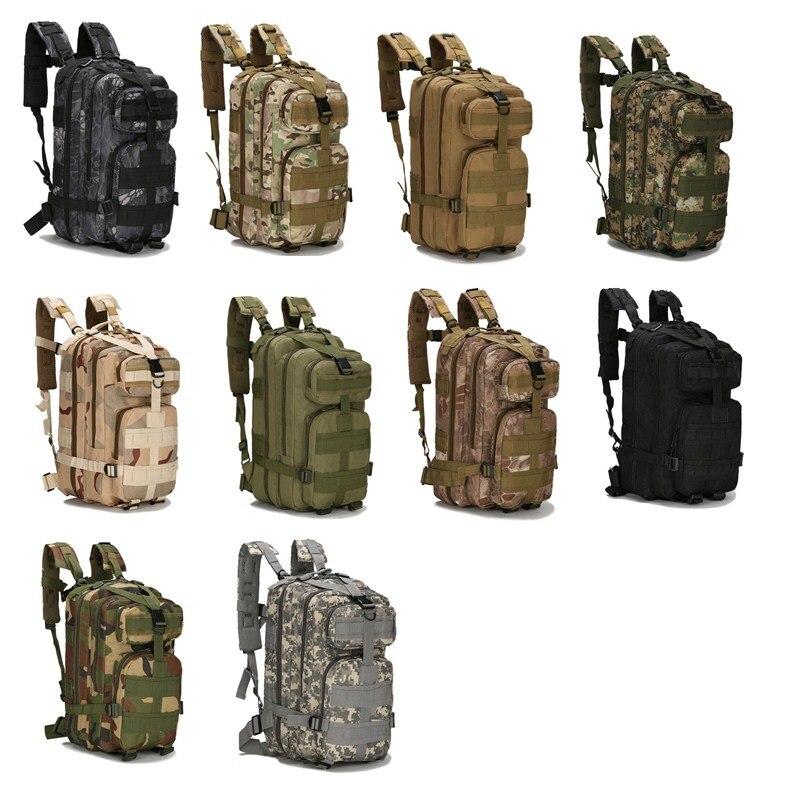30L 3D 3 P attaque tactique militaire sacs à dos unisexe extérieur sac de voyage alpinisme randonnée sac à dos Camping Trekking sacs à dos