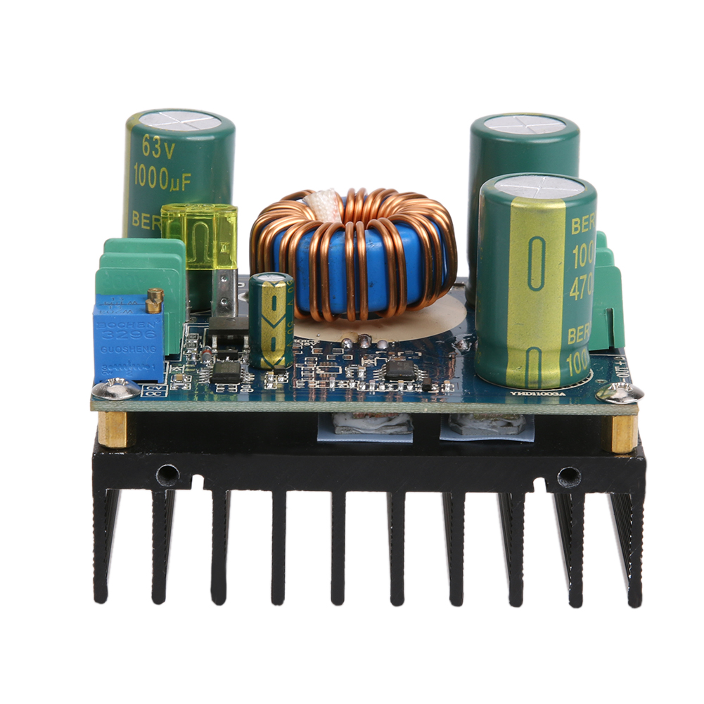 DC 12A 600W High Power DC/DC Adjustable CC-CV Solar Power Voltage Regulator Boost Buck Voltage Converter for Car Vehicle