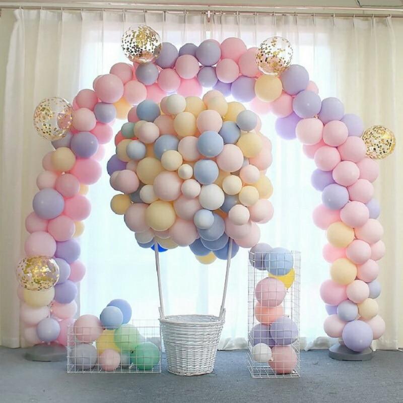 Unicorn Party 100pcs 10inch Macaron Color Latex Balloon Baby Birthday Party Valentine's Day Decor Balloon Wedding Decoration