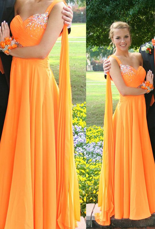 Online Get Cheap Orange Prom Dress -Aliexpress.com | Alibaba Group