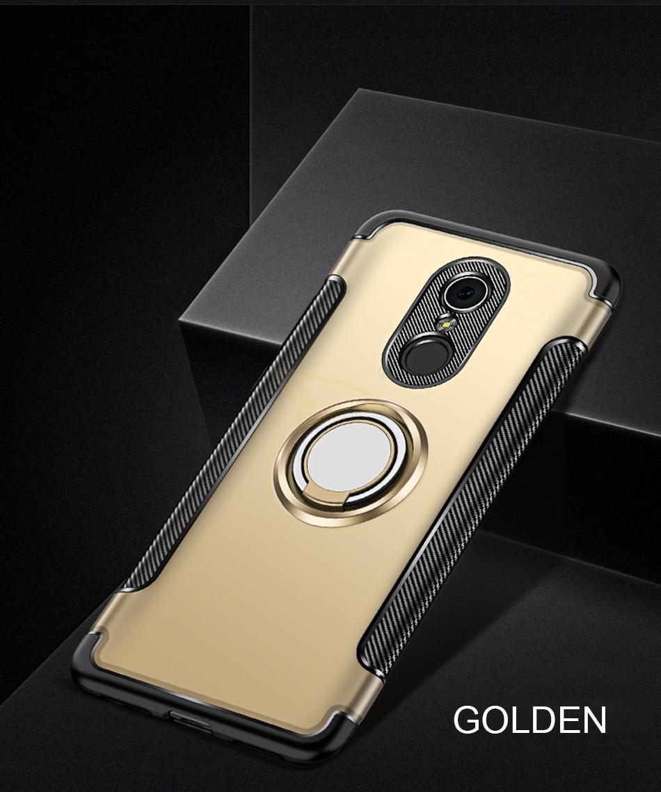 HTB1JZKiKkKWBuNjy1zjq6AOypXav Luxury Soft Shockproof Case For Xiaomi Redmi 4X Note 4 4X Full Cover For Redmi 5 PLus Note 7 Pro 6 6A Hard PC Bracket Ring Cases