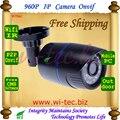 Builit WIFI 960 P Bullet IR Al Aire Libre cámara de Seguridad ONVIF Mini Noche ver P2P Cámara IP IR Cut Filtro de la Lente de 1.3 Megapíxeles Red cámara
