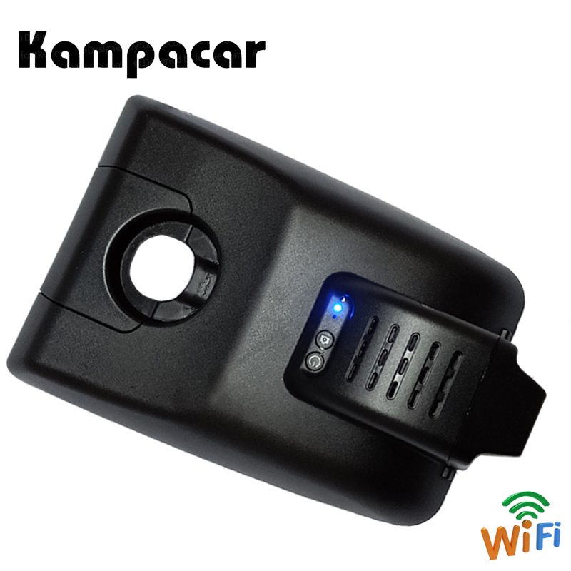 Kampacar Mini Dash Cam Wifi Front Mirror Rear View Camera Video Recorder For Toyota Camry XV70