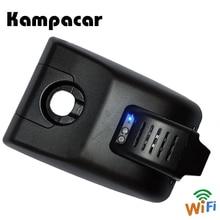 Kampacar мини-видеорегистратор Wi-Fi переднее зеркало камера заднего вида видеорегистратор для Toyota Camry XV70 XV 2018 Автомобильные видеорегистраторы с двумя камерами s