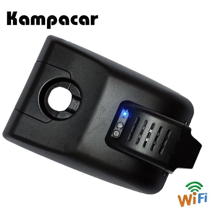 Kampacar Mini caméra de tableau de bord Wifi rétroviseur caméra de recul enregistreur vidéo pour Toyota Camry XV70 XV 2018 dvr de voiture avec deux caméras