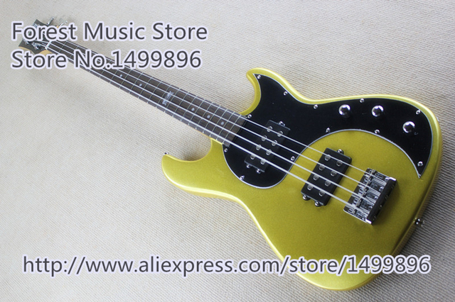 Cheap New Arrival China G 120th Anniversary EB 4 String Bass Electric Guitar Left Handed Custom Available