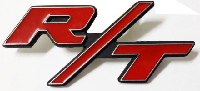 New 2 x rt rt emblem for dodge charger ram 1500 challenger badge new 2 x rt rt emblem for dodge charger ram 1500 challenger badge decal publicscrutiny Choice Image