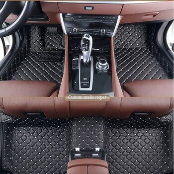 CHOWTOTO Custom Car Floor Mat + Trunk Mats For KIA Mohave 7seats Waterproof Full Set Carpets For Borrego 7 Seats More Discounts