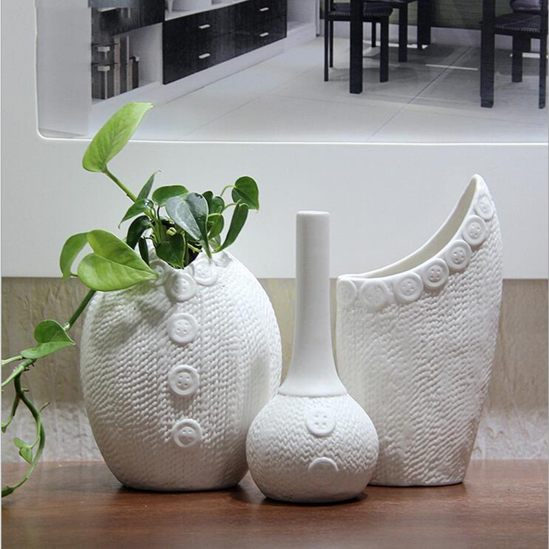 Home Decor Vases,Handpainted Ceramic Tabletop Vase,Flower ...