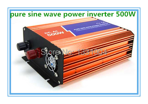 500 W Pur onduleur à onde sinusoïdale 110/220 V 12/24VDC, certificat de la CE et de ROHS, PV Solaire, inverseur De Puissance, Onduleur De Voiture Convertisseur