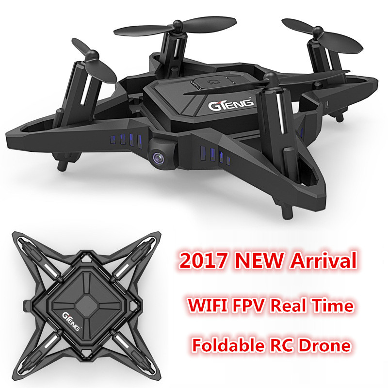 Hot kids RC toy mini drone T911W 2.4G 4CH wifi fpv remote control helicopter foldable with 0.3P wifi HD camera attitude hold global drone foldable selfie drone wifi phone control fpv folding mini tumbler remote control full protection frame with hd cam