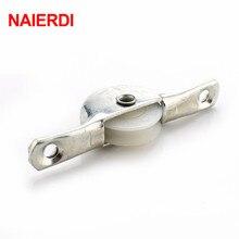 NAIERDI 4 шт. ролик раздвижной двери нейлоновый ролик для шкафа шкив для шкафа мебельная фурнитура