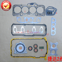 ADE AEH AGN AKL C22SEL AKL ADG AEF AKL Engine Full gasket kit for VW POLO JETTA CADDY BORA 1.6L 1.9D OPEL VECTRA B 2.2L