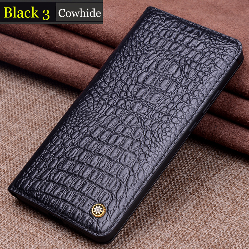 Genuine Leather Flip Case For Samsung Galaxy S10 Lite Cover Magnetic case For Galaxy S10 Plus Cases Leather Cover Phone Cases in Flip Cases from Cellphones Telecommunications