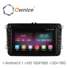 4 Core Android 5.1 Reproductor de DVD Del Coche Para VW Golf V 2003-2009 Passat Volkswagen Golf 6 Magotan B6 Jetta X8 GPS Radio 2G RAM 16 GB ROM