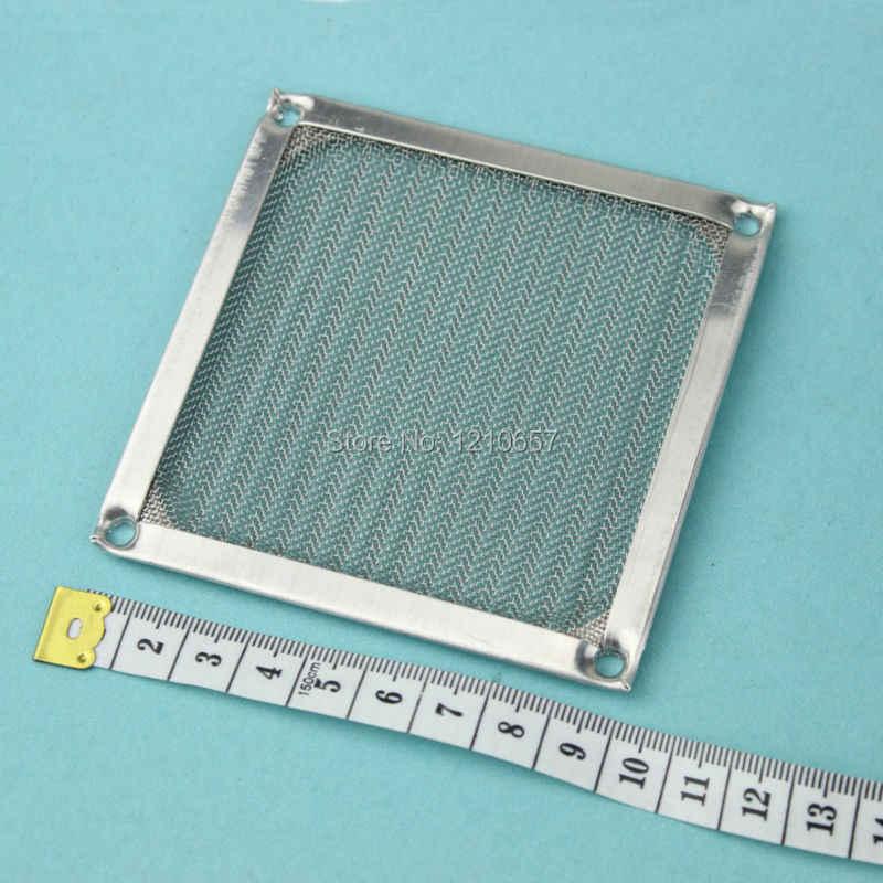 2個ロット90ミリメートルpcコンピュータファン冷却防塵ダストフィルタケースfrアルミグリルガード