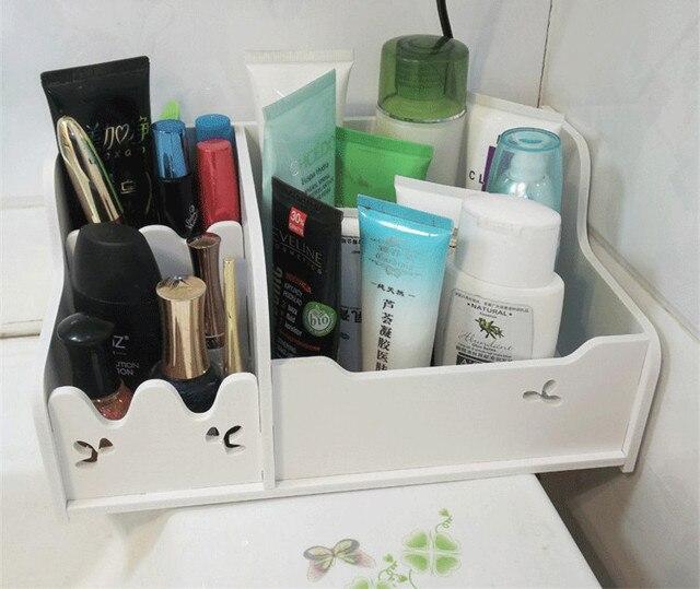 Plastikowe Pudełko Do Przechowywania Biżuterii Pojemnik Makijaż