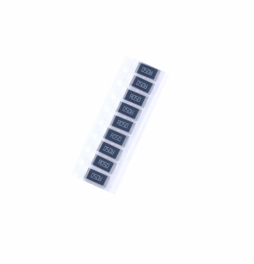 20 Pcs 2512 SMD Resistor 1W 0.05 Ohm 0.05R R050 1% 2512 Chip Resistor High Precision