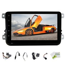 Hot Sale Android 4.4 Car GPS Navigation for VW/GOLF/BORA/PASSAT/CC etc Car Radio Stereo Support Bluetooth OBD2 Canbus