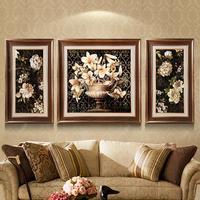 5D Diy алмазная живопись вышивка крестиком цветы лилии Алмазная вышивка тройной роспись алмазной мозайкой картины рукоделие подарок