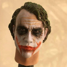 Custom 1/6 Scale Clown Joker Creg 2.0 Head Sculpt Action figure toy in stock