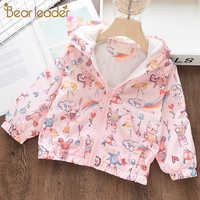 Bear Leader Girls Coat and Jackets New Autumn Cartoon Baby Kids Clothes Children Hooded Outwear Baby Kids Coats Jacket Clothing