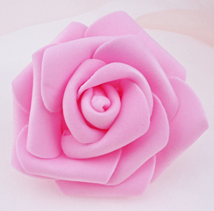 100 teile / los 6 cm Schaum Rose Köpfe Künstliche Blumenköpfe Mint - Partyartikel und Dekoration - Foto 4