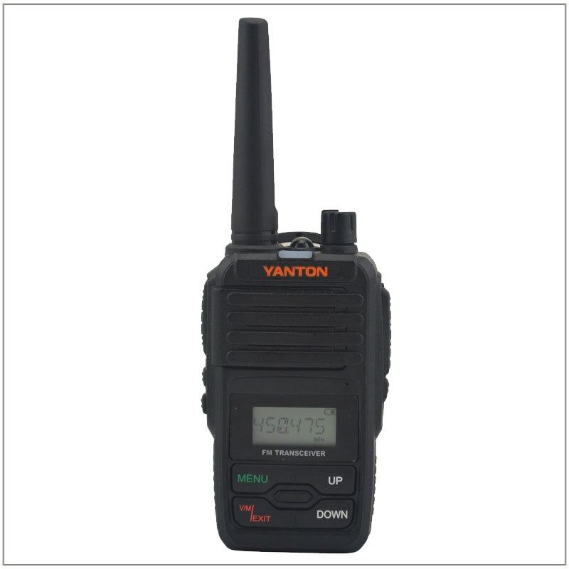 YANTON T-320 Ham Radio Compact Two-way Radio UHF 400-480MHz Portable FM Walkie Talkie