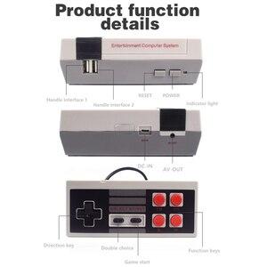 Image 4 - البيانات الضفدع التلفزيون لعبة فيديو وحدة التحكم المدمج في 620 ألعاب 8 بت الرجعية لعبة وحدة التحكم المحمولة الألعاب لاعب أفضل هدية شحن مجاني
