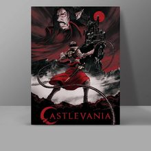Castlevania Belmont Dracula Canvas Painting Castle Vania Wall Pictures Anime Cartoon Video Game Office HD Print Home Decor delsey belmont 3840820 3840820 12