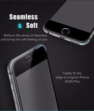 USAMS 0.3 мм 9 H Углеродного Волокна 3D Закаленное Стекло для iphone 6/6 s Screen Protector Защитная Пленка Премиум Версия
