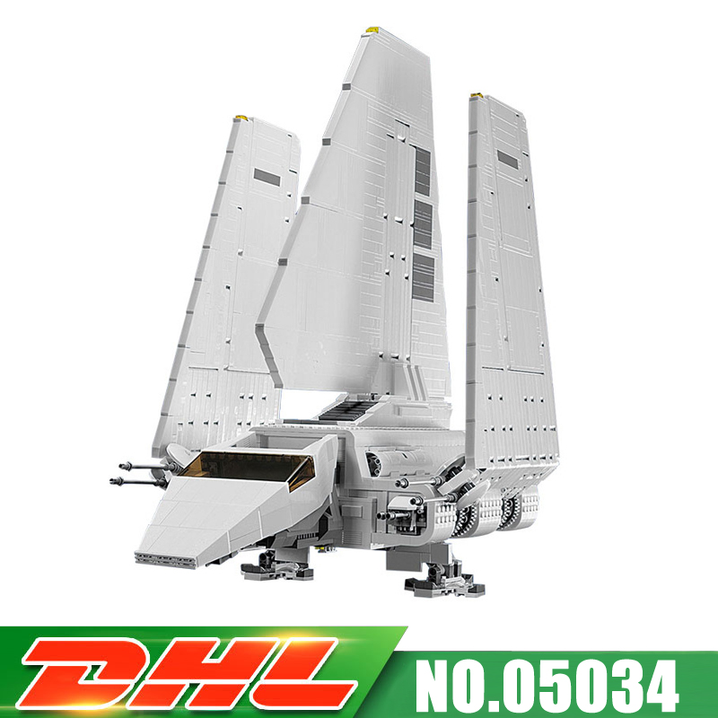 Fit For 10212 LEPIN 05034 2503Pcs 2018 New UCS Imperial Shuttle  Model Kits Building Blocks Bricks Gift Toy MOC