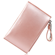 pu leather ladies wallet Japan and South Korea Pearlescent laser creative mini coin purse handbag zipper money pocket key small цена 2017