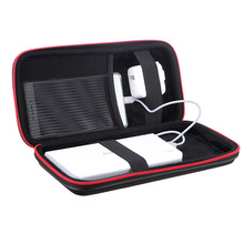 Portable Power bank EVA Pouch Bag for Anker Rock PISEN Baseus Powerbank External Battery Case Customized Pouch Case 25*11*5 cm