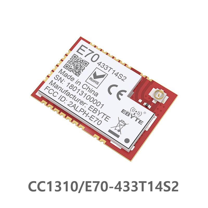 CC1310 433MHz IOT SMD Ebyte E70-433T14S2 Rf Wireless Uhf Module Transmitter And Receiver 433 MHz RF Module UART