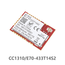 CC1310 433MHz IOT SMD ebyte E70-433T14S2 rf Wireless uhf Module Transmitter and Receiver 433 MHz RF UART