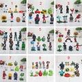 3-8 см PVZ Растения против Зомби ПВХ Рис Игрушки Коллекция Модель Игрушки Куклы Для Детей