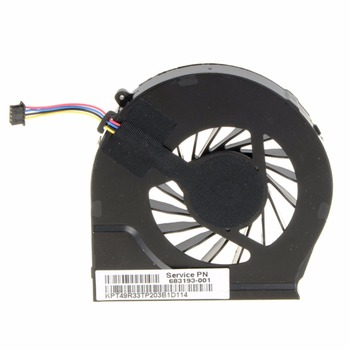 4 pin Laptops Computer Replacements CPU Cooling Fan For HP Pavilion G6-2000 G6-2100 G6-2200 Series Laptops 683193-001 HA F1014 replacement lcd lvds video screen cable adapter for hp pavilion g6 2000 g6 2238dx g6 2001tx led screen flex cable dd0r36lc000