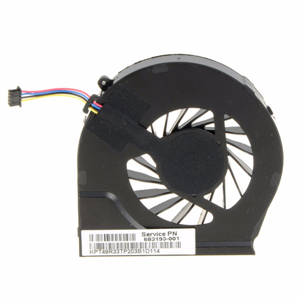 4 pin Laptops Computer Replacements CPU Cooling Fan For HP Pavilion G6-2000 G6-2100 G6-2200 Series Laptops 683193-001 HA F1014 image
