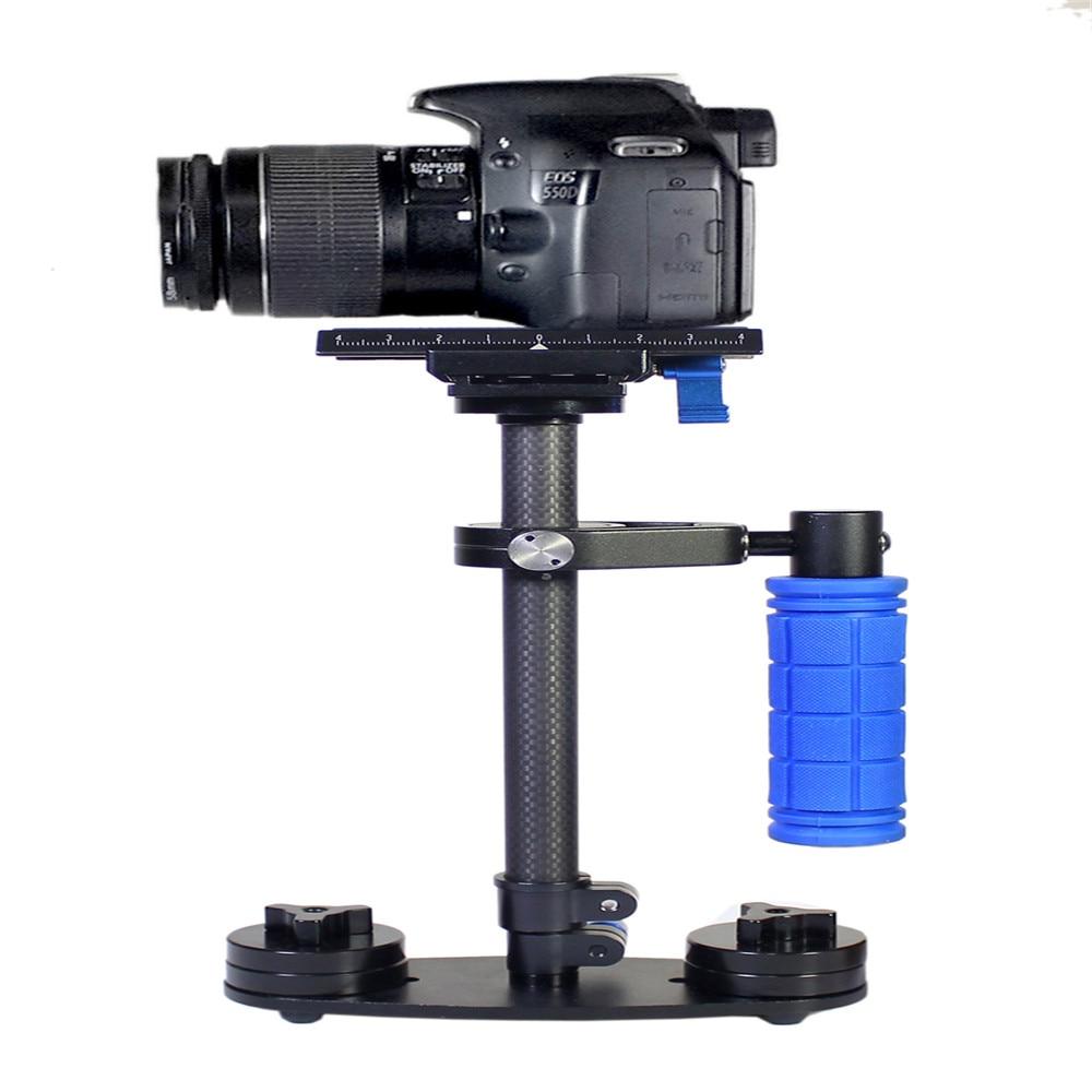 Free shipping Carbon Fiber DSLR S-40C Video Camera Stabilizer for DSLR camera and DV camcorder steadycam Steadicam gopro hero ashanks dslr steadicam 24 60cm s60c carbon fiber handheld stabilizer for dslr video camera and dv camcorder steadycam