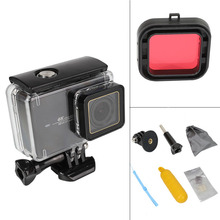 45M Underwater Waterproof Case for Xiaomi 4K Action Camera Yi 4K+/Yi Lite/YI 4K Plus Diving Housing Mount for Xiaoyi Accessories international xiaomi yi 4k plus action camera 2 19 ambarella h2 for sony imx377 12mp 155 degree 4k sports camera touchscreen